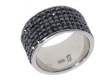 Кольцо, серебро 925, кристалл Сваровски 018 02 21-04079 2009 г артикул 8145w.