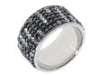 Кольцо, серебро 925, кристалл Сваровски 018 02 21-04080 2009 г артикул 8146w.