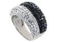Кольцо, серебро 925, кристалл Сваровски 018 02 21-04085 2009 г артикул 8306w.