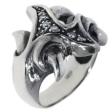 Кольцо, серебро 925, циркон 032 02 21-04287 2010 г артикул 8417w.