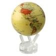 """Глобус """"Mova Globe"""" с политической картой Мира Цвет: бежевый, диаметр: 22 см MG-85-АТE воспламеняющейся при нормальных экологических условиях артикул 13807o."""